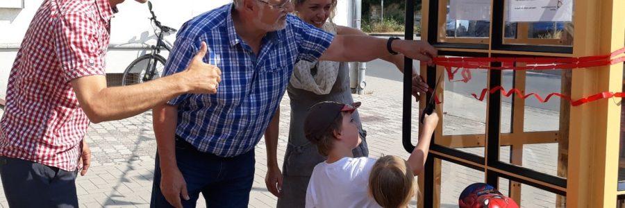 Eröffnung der ersten Tauschzelle in Lieskau